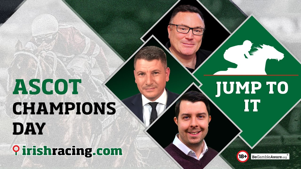 Download Oisin Murphy vs William Buick | Ascot Champions Day Preview & Tips | Jump To It