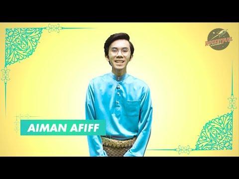 Salam Aidilfitri bersama Aiman Afiff