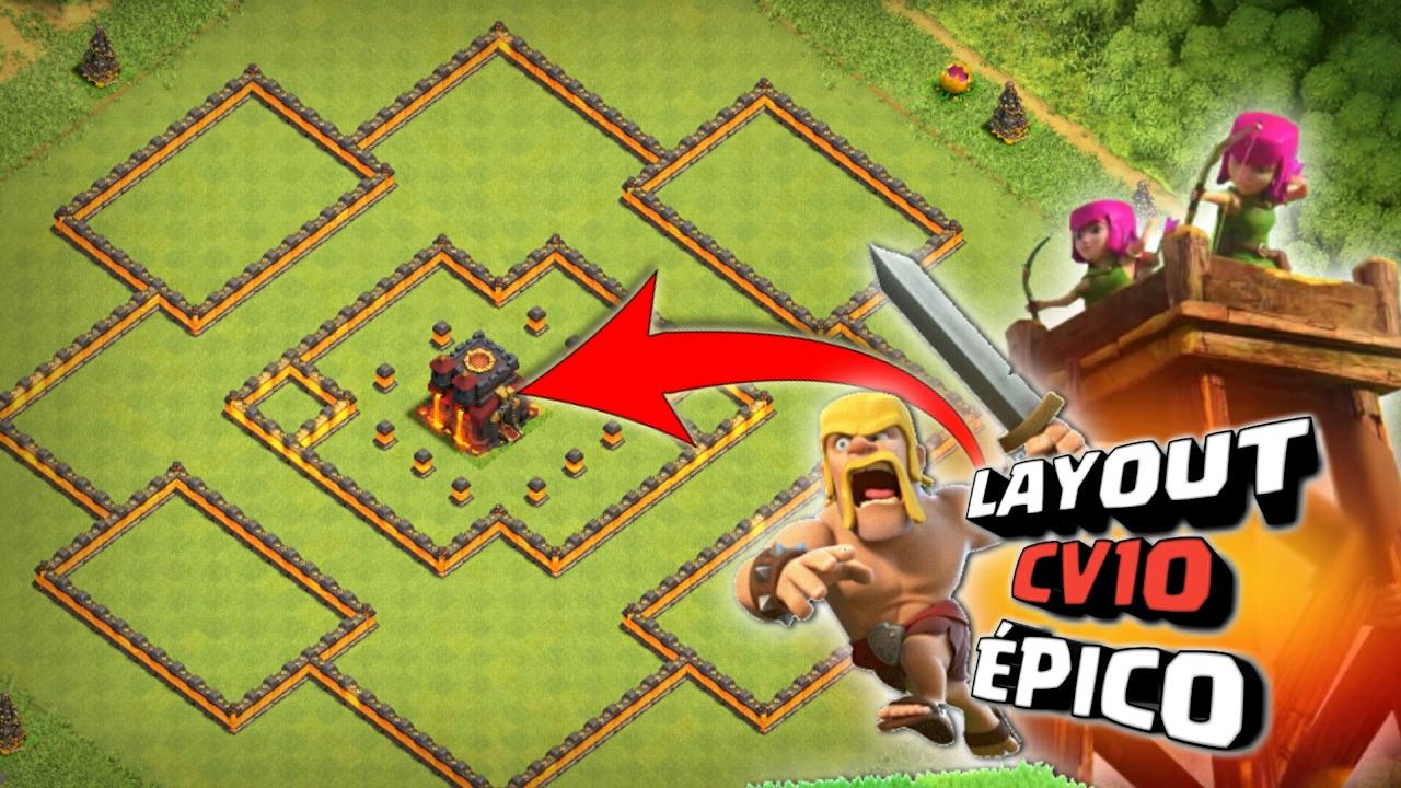 melhor e mais novo layout cv10 torre de bombas  th10 bomb