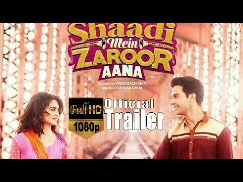 Shaadi Mein Zaroor Aana !! Full HD Movie in 720 !! Trailer !! Full HD Video Songs !! Audio and Mp3 Songs !!