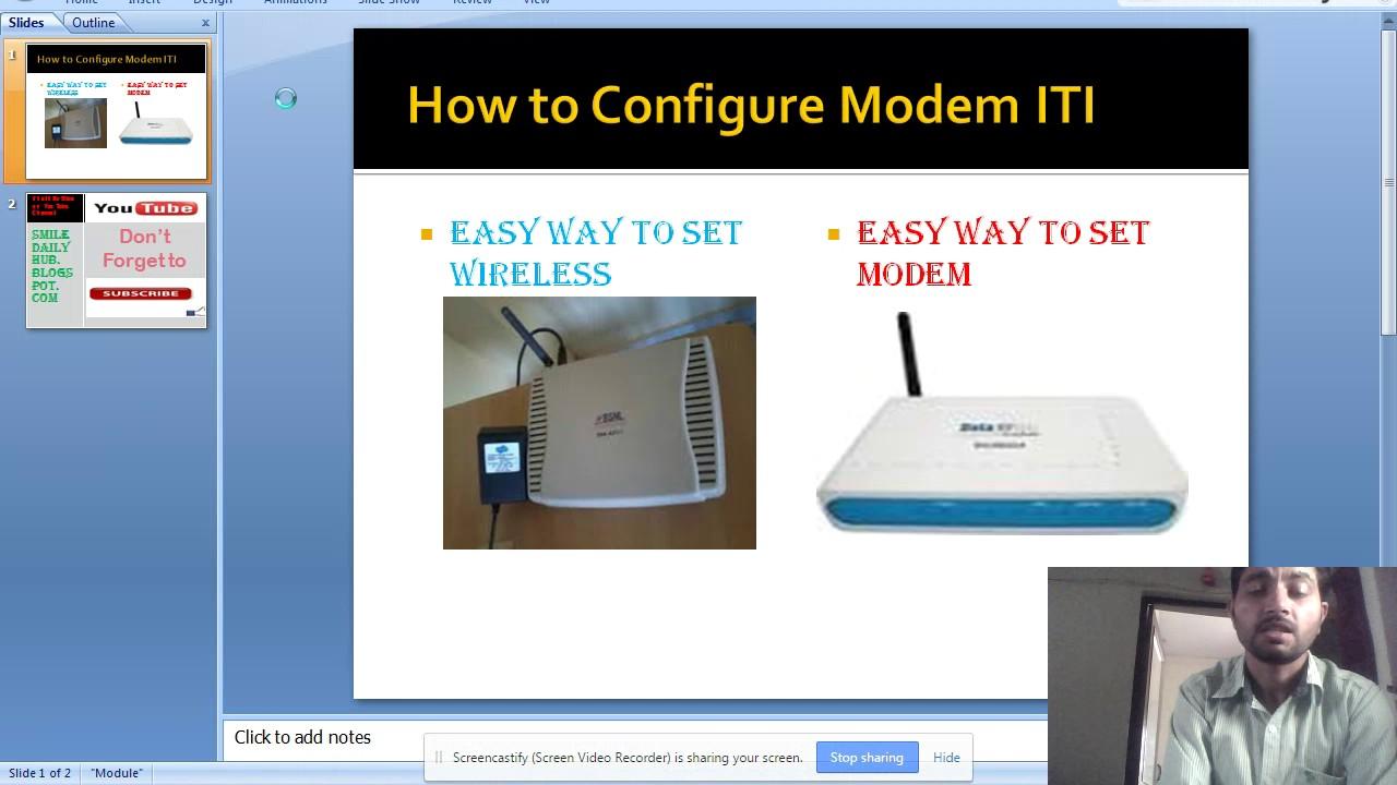 bsnl broadband modem configuration settings pdf