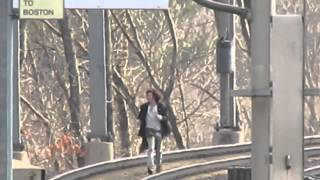 Man Runs from Train over Canton Junction Viaduct. *Read Desc.