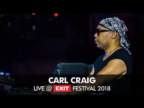 EXIT 2018 | Carl Craig Live @ Main Stage FULL SHOW