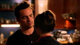 Nick and Jess 2x19 kiss scene
