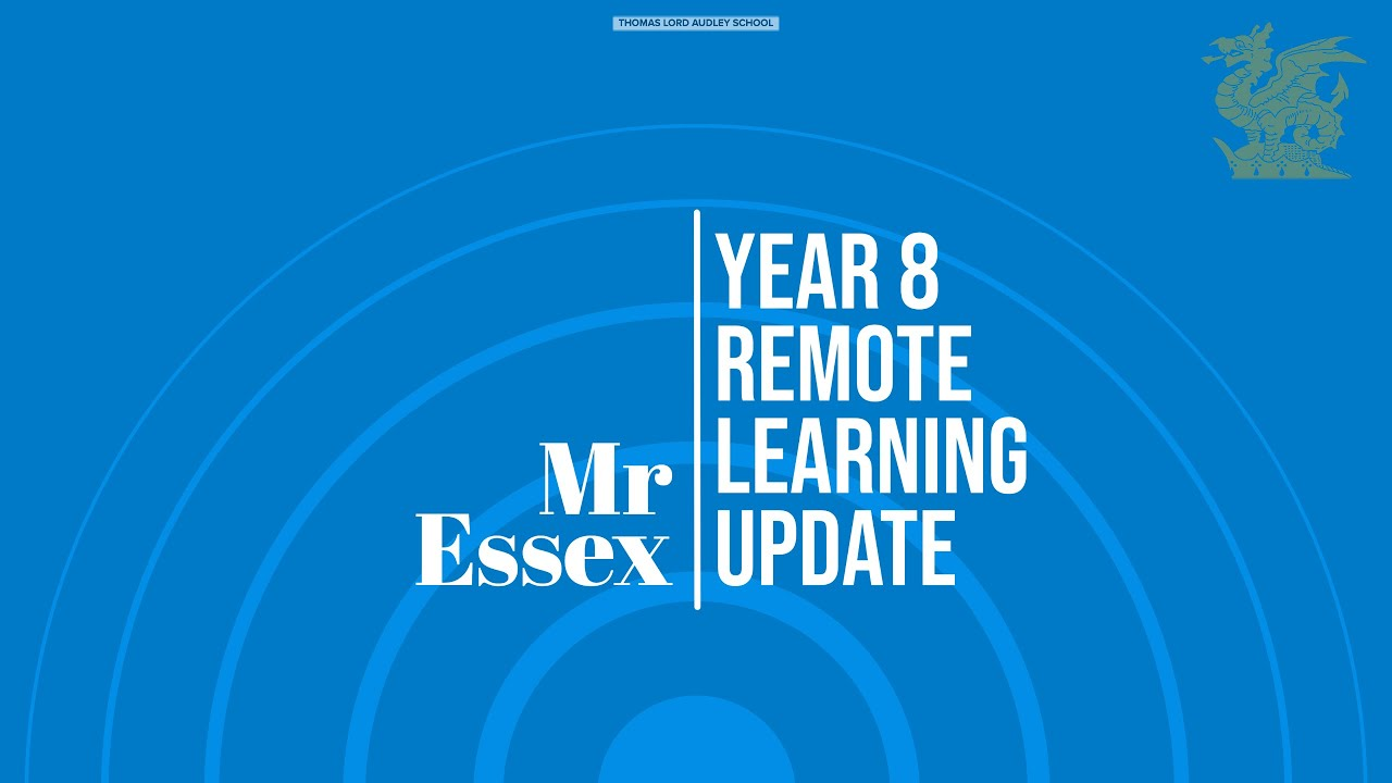 Year 8 - Remote Learning Update