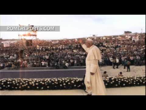 A look back at World Youth Day 25 years ago! | Pope