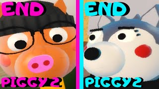 Roblox - All 2 Endings - Piggy 2!