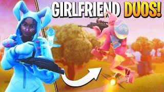 GIRLFRIEND DUOS! - Fortnite Girlfriend Duos Gameplay!