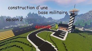 MINECRAFT   construction d'une base militaire   S2EP3