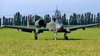 Model: Skymaster Fairchild A-10 Thunderbolt II Warthog Engine/Turbi...