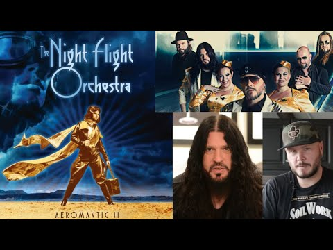 "Night Flight Orchestra (Soilwork/Arch Enemy) debut Chardonnay Nights off ""Aeromantic II"""