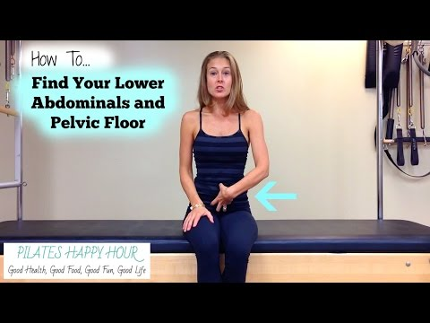 How to Contract Your Abs - Includes Kegel Exercises