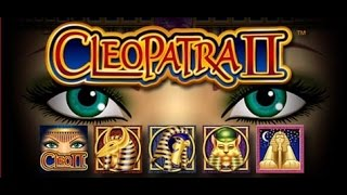 **Throwback Thursday!!** 2-cent Cleopatra II - NICE WIN!!! - IGT slot bonus with retrigger