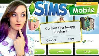 I Spent All My Money on The Sims MOBILE!!