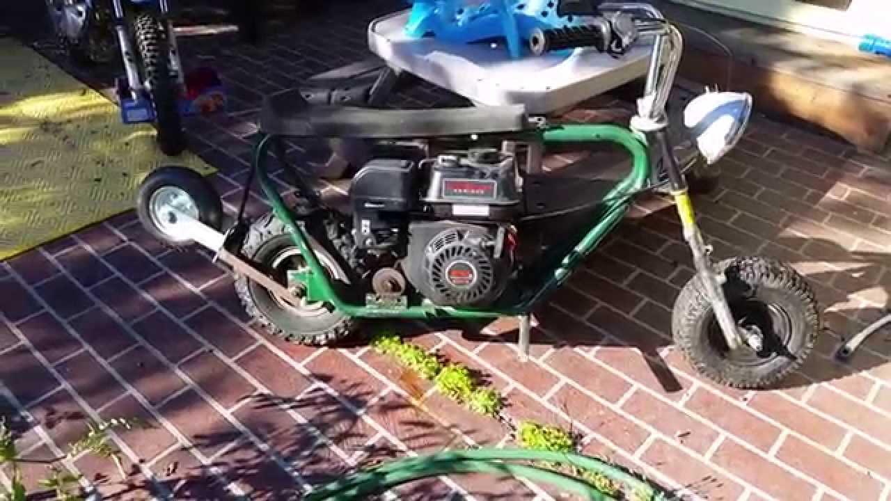 Predator 212 cc mini bike start *Top secret end