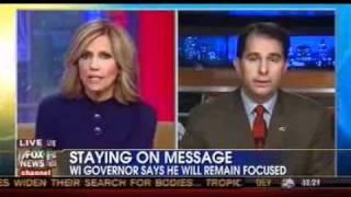 Wisconsin Gov. Scott Walker on FOX News