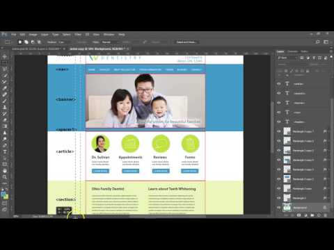 Making Website With Html & Css From Photoshop Design Pt1