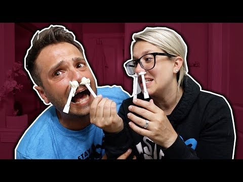 WAXING NOSE HAIR GONE WRONG! *OUCH*