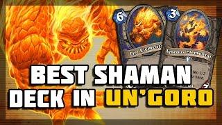 Hearthstone - Best Shaman Deck in Un