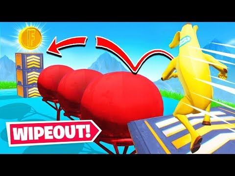 *IMPOSSIBLE* WIPEOUT MAP *NEW* Game Mode in Fortnite Battle Royale