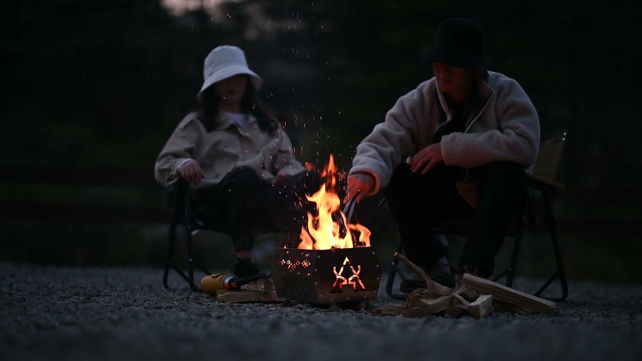 2021新品KZM OUTDOOR Camping Equipment Making Flim#KZM