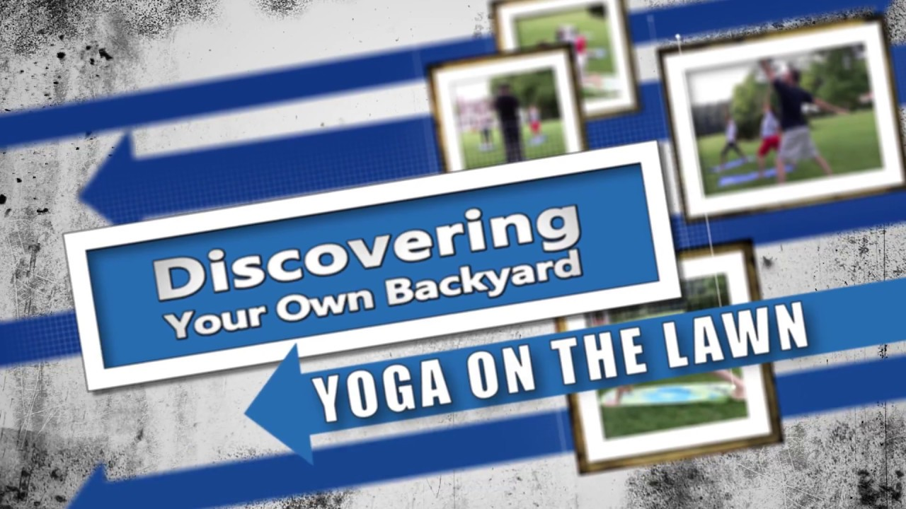 discovering your own backyard yoga on the lawn at rippon lodge