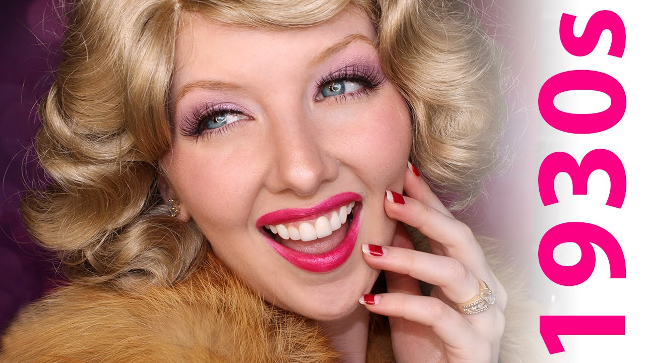 Historically Accurate 1930s Makeup Tutorial YouTube