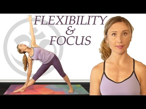 Yoga for Flexibility & Focus, Beginners to Intermediate 20 Minute Workout with Tessa