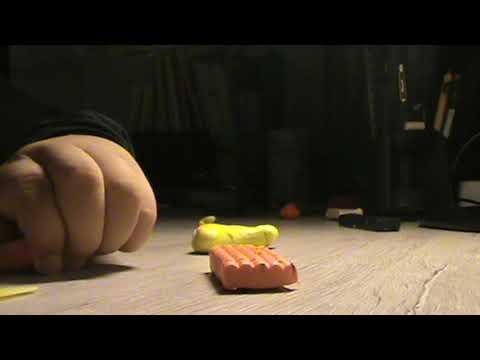Симба из пластелина