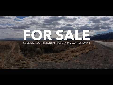 Prime land opportunity in Cedar Fort, Utah