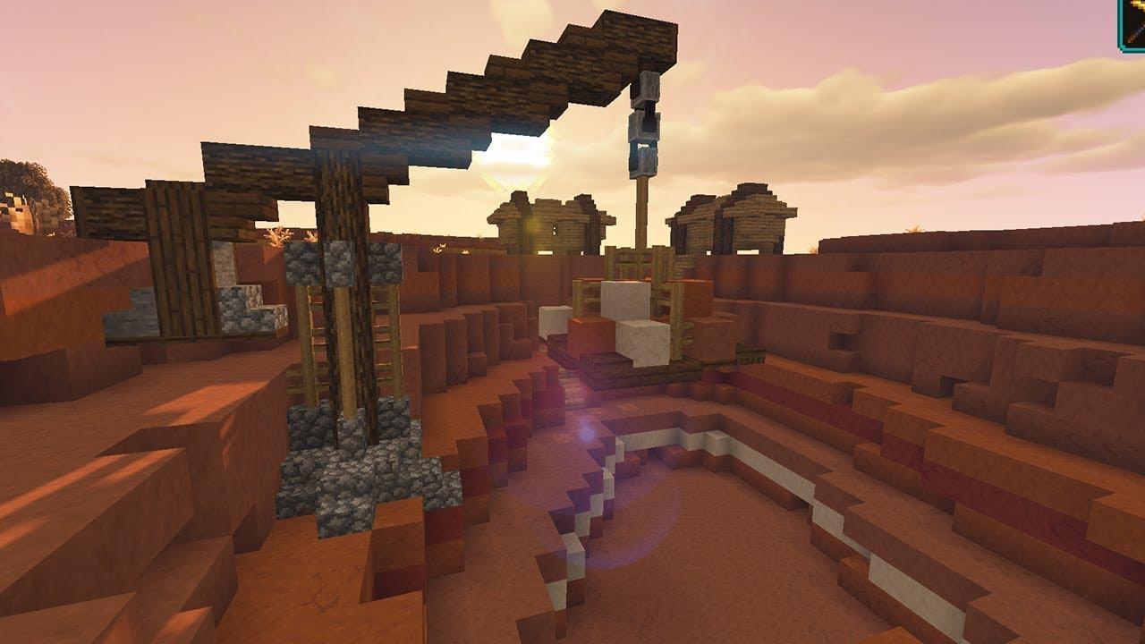 Mesa Quarry Build ▶ Minecraft 10.104 Vanilla Hardcore