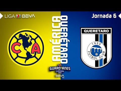 Club America G.B. Queretaro Goals And Highlights