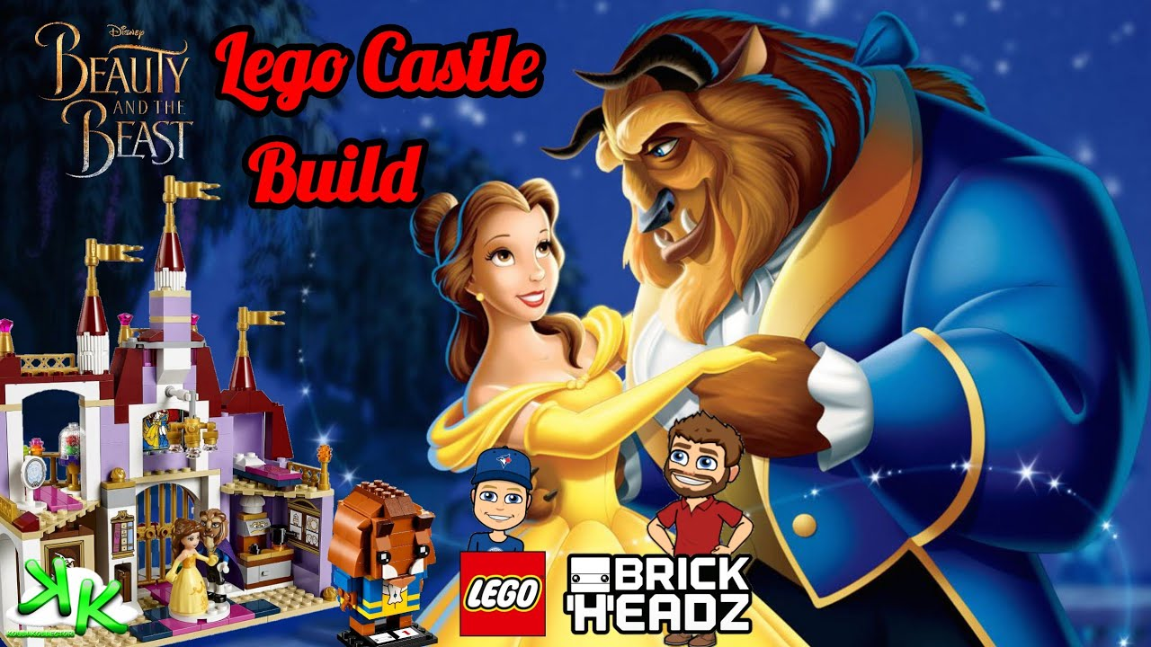 Beauty and the Beast Retired Lego 41067 - Belle's Enchanted Castle
