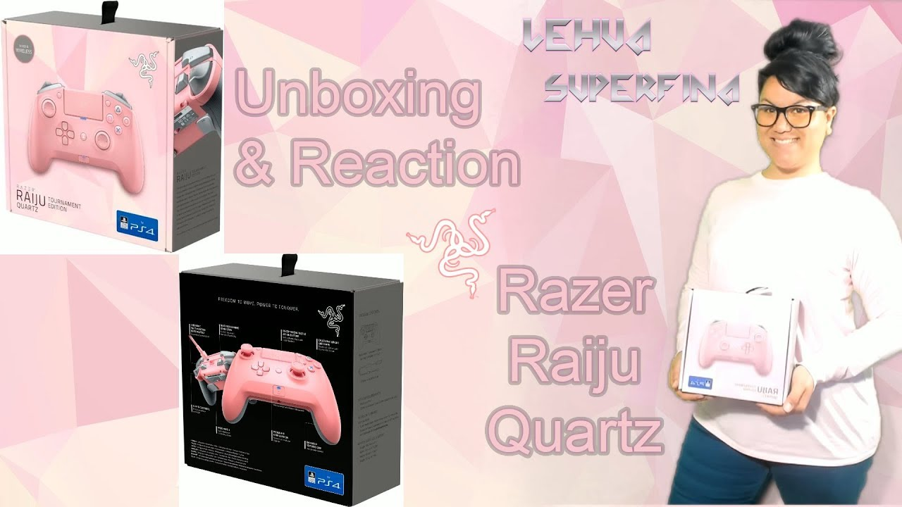 Razer Raiju Quartz Unboxing Reaction Youtube Началовсички контролеривсички контролери razerrazer raiju tournament edition quartz. razer raiju quartz unboxing reaction