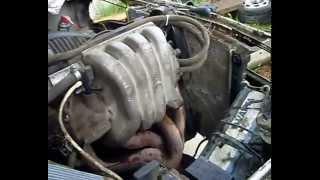 Москвич , замена двигателя  узам ( уфа ) на рено ( renault ) // -_- \\