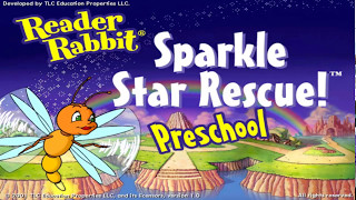 Let's Play Reader Rabbit Preschool Part 1 - The Land of Sparkalot