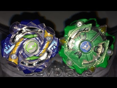 Diomedes D2 vs Hyrus H2 : Beyblade Burst Evolution