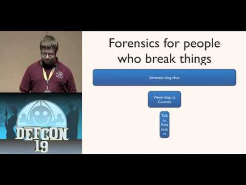 DEFCON 19: Forensics With Metasploit