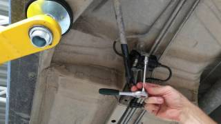Тойота марк 2   2JZ   замена топливного фильтра  Toyota Mark II