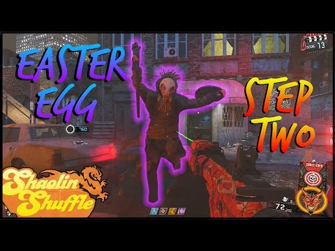 """""""Shaolin Shuffle"""" Easter Egg Guide! Step 2 Chinese Symbols And Rat King Boss Fight"""