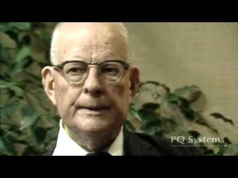 W. Edwards Deming - Rare Full-Length Interview - February 1984