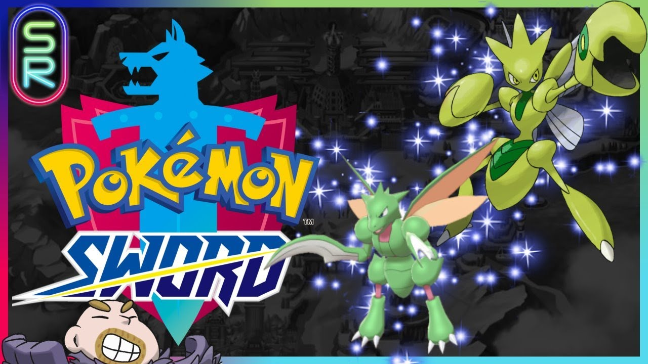 SHINY SCYTHER HUNT!! Pokemon Sword Full Odds Masuda Method (Rated R)