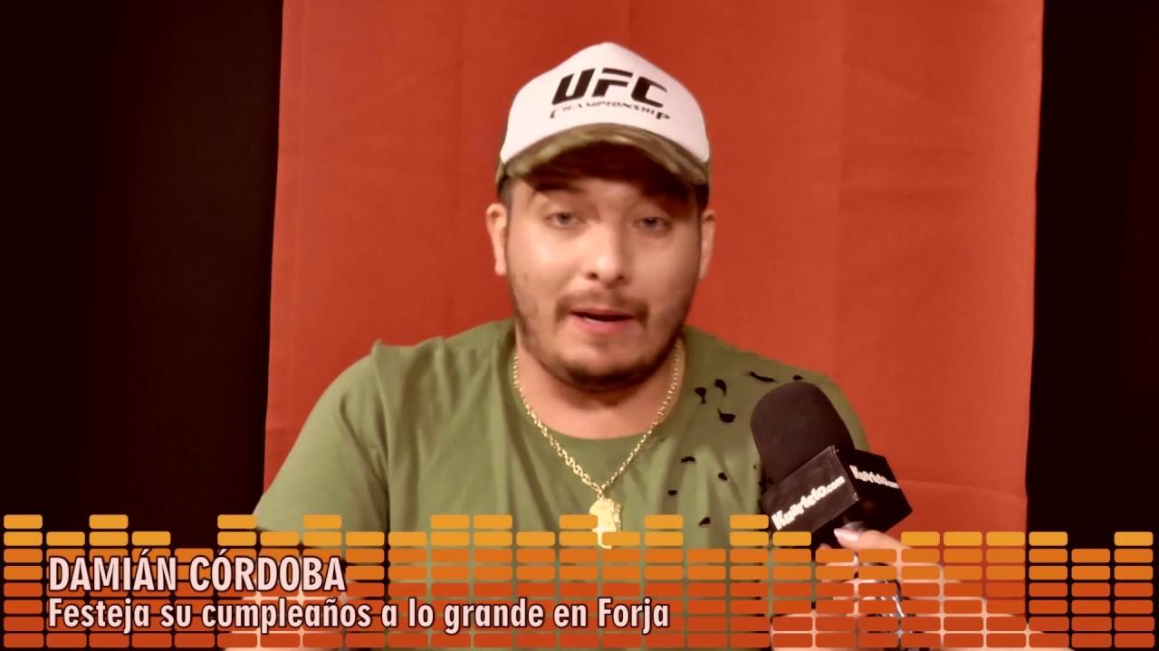 Entrevista dami n c rdoba festeja su cumple a lo grande en forja youtube - Forja en cordoba ...