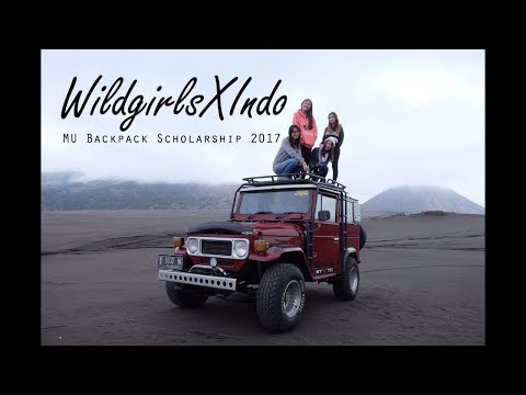 MU Backpack Scholarship 2017 - WildgirlsxIndo - Indonesia