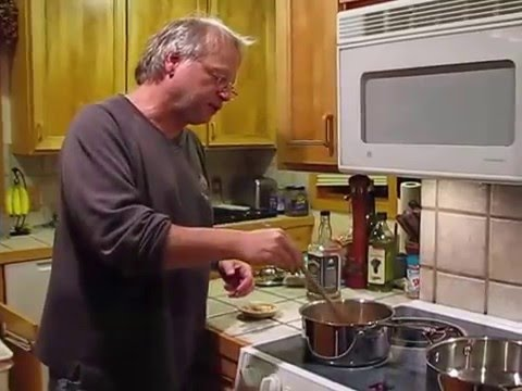 Cooking with Greg bourbon ginger apple sauce