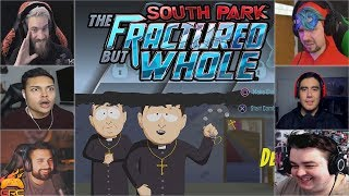 Gamers Reactions to Friendly Priests Intro | South Park™: ...