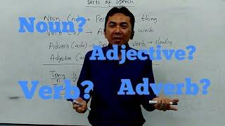 Belajar Bahasa Inggris - Noun, Verb, Adjective dan Adverb - English grammar