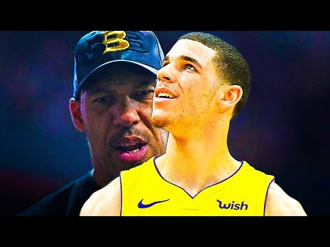 Lonzo Ball reacts to LaVar Ball Threatening Lakers to sign LaMelo Ball and LiAngelo Ball!