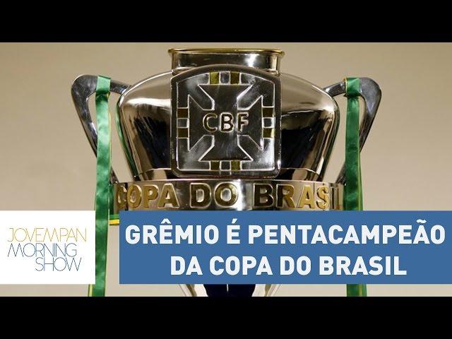 Grêmio é o único pentacampeão da Copa do Brasil; veja como foi | Morning Show