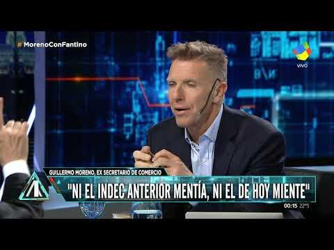 """El ex secretario de Comercio Interior del kirchnerismo Guillermo Moreno dijo en """"Animales Sueltos"""" que el presidente Mauricio Macri """"no tiene la cabeza de un emprendedor, sino de un rentista oligarca""""."""